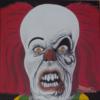 Augen, Clown, Zäne, Malerei