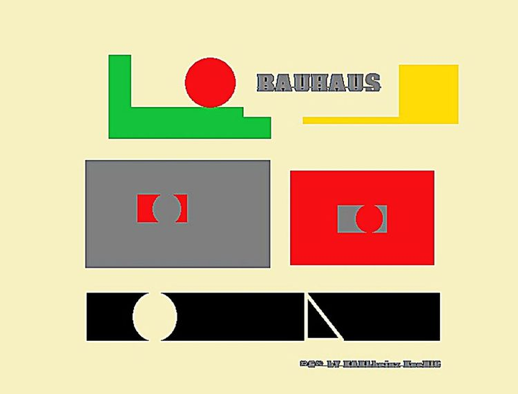 Bauhaus, Kandinsky, Johannes itten, Bauhaus meister, Digitale kunst