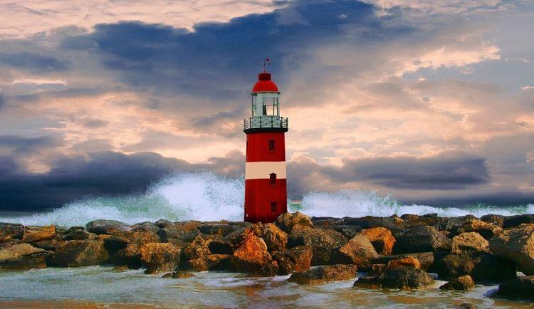Natur, Landschaft, Sehnsucht, Himmel, Meer, Sturm