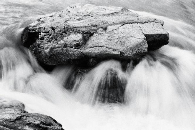 Lappland, Landschaft, Sarek, Schwarz weiß, Fluss, Wasser