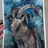 Sternzeichen, Realismus, Horoskop, Portrait