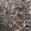 weid3 - zeichnung , a3 , drawing , fineline , kugelschreiber, abstrakt , weid, fantasie