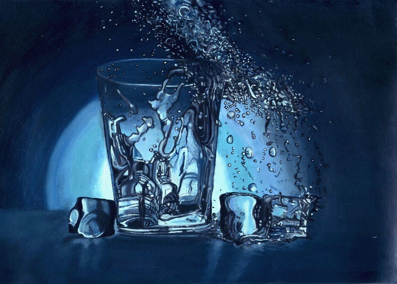 4f234676c41ba Werk 9: Glas, Licht, Wasser, Eis von C117 on KunstNet