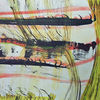 Tuschmalerei, Aquarellmalerei, Landschaft, Weiß
