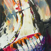 Violett, Tuschmalerei, Gefühlswelten, Aquarellmalerei