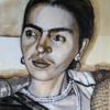 Acrylmalerei, Kahlo, Malerei,