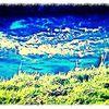Digitale kunst, Wasser, Gras