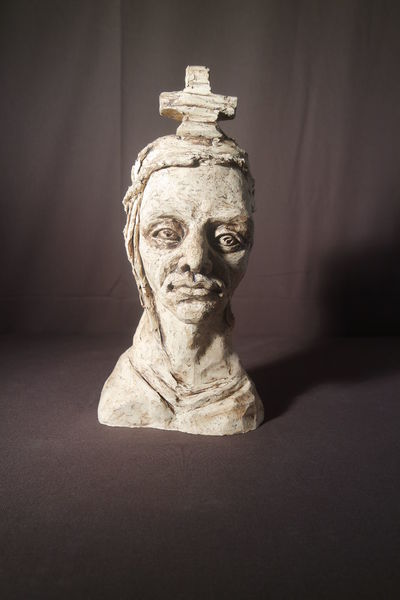 Büste, Figur, Keramik, Statuette, Skulptur, Statue