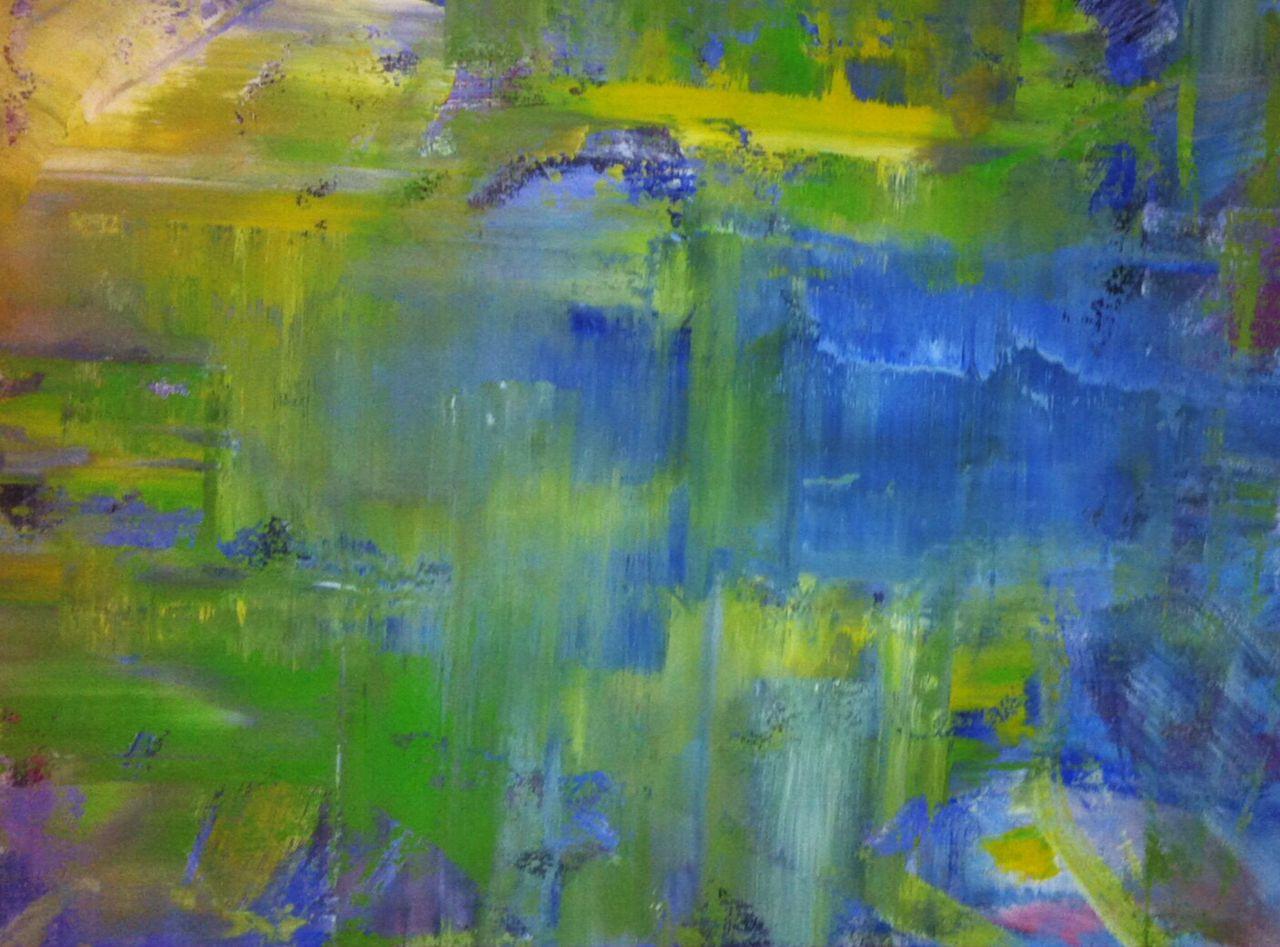 Bild: acrylmalerei, malerei, abstrakt, see von k lucke bei kunstnet