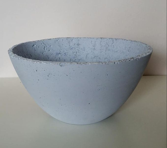 Dekoration, Modern, Blau, Schale, Kunsthandwerk