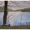Malerei, Wintersonne, März, 2011