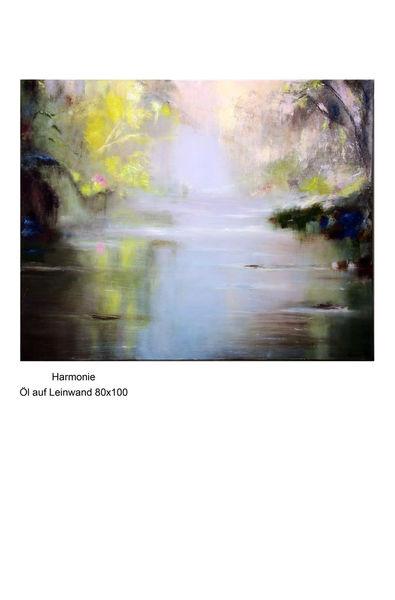 Wasser, Ölmalerei, Natur, Abstrakt, Gegenständlich, Landschaft