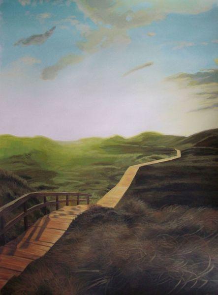 Natur landschaft, Malerei