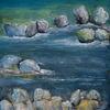 Stein, Fluss, Felsen, Wasser