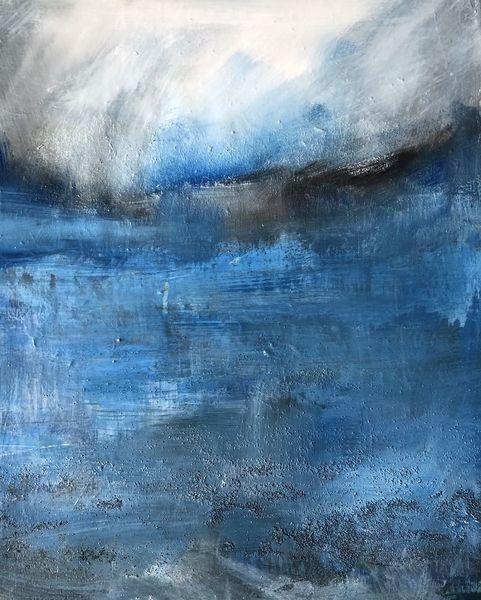 Wasser, Meer, Himmel, Malerei