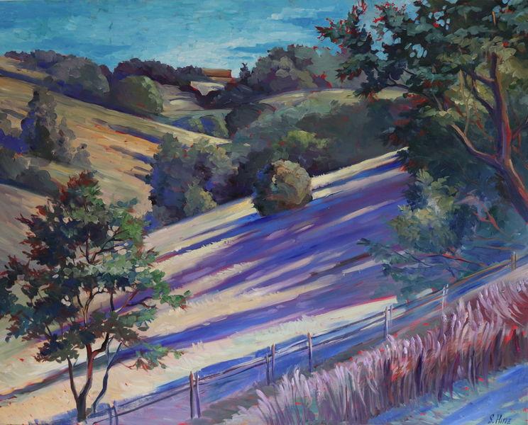 Landschaft, Gemälde, Malerei, Blick