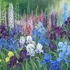 Blumen, Violett, Stillleben, Grün