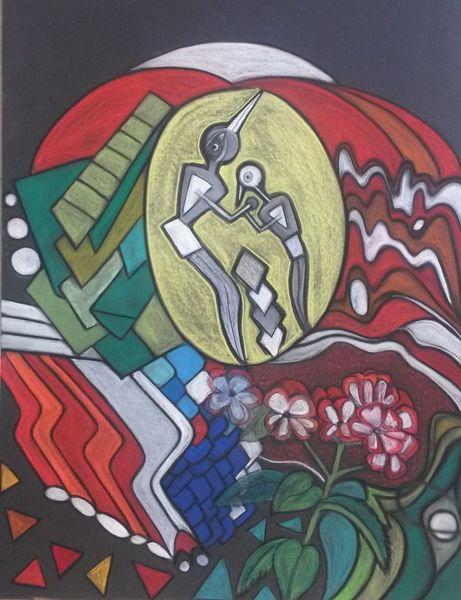 Figur, Abstrakt, Fantasie, Rund, Kopf, Blüte