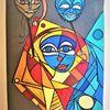 Maske, Rund, Abstrakt, Kopf