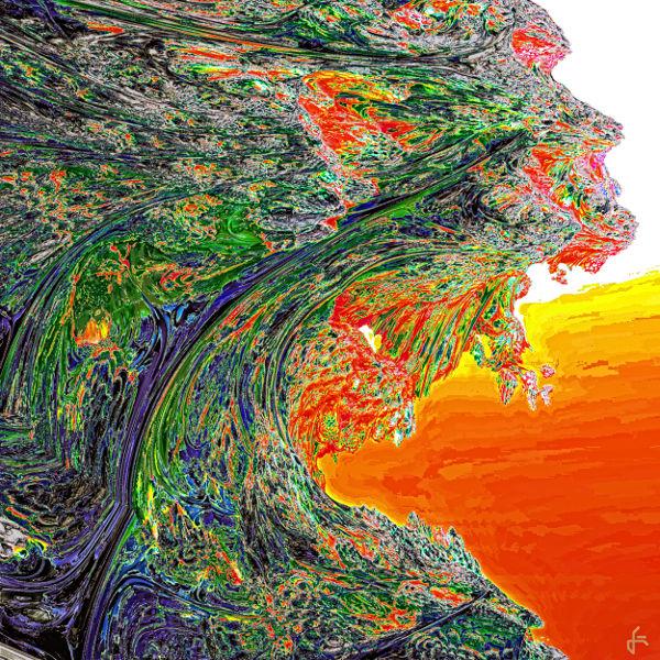 Fraktalkunst, Digital, Mandelbulb, Digitale kunst