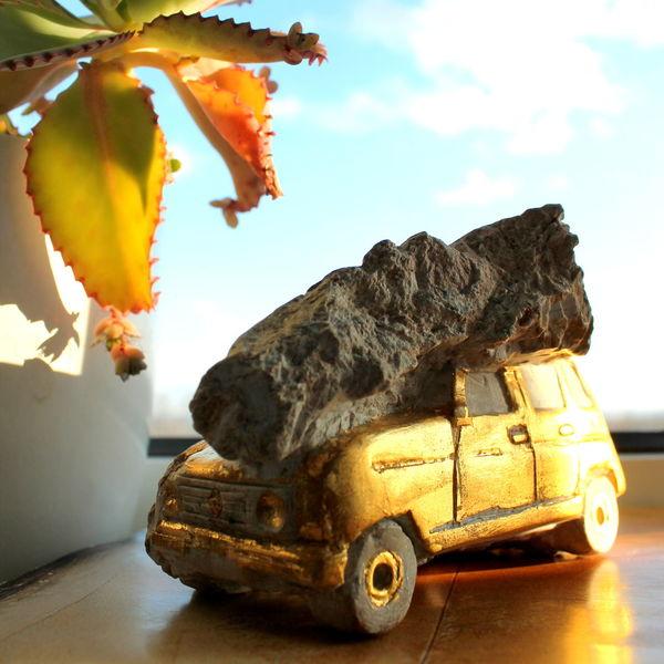 Oldtimer, Versteinerung, Fossilien, Renault, Plastik, Xi