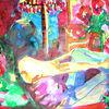 My sweet home - acryl, kunst, künstler, hintergrund, hintergründe, wunderschön, blau, pinsel, leinen, farbe, handwerk, entwurf, goldmedaille, grün, medien,Öl, originell, gemälde, muster, rosa, rot, spiegelung, gestalten, atelier, oberfläche, textur, weiß, gelb, Udo, vo