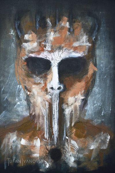 Darkart, Abstrakt, Gesicht, Wesen, Dunkel, Anatomie