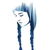 Blau, Traum, Aquarellmalerei, Wasserfarbe