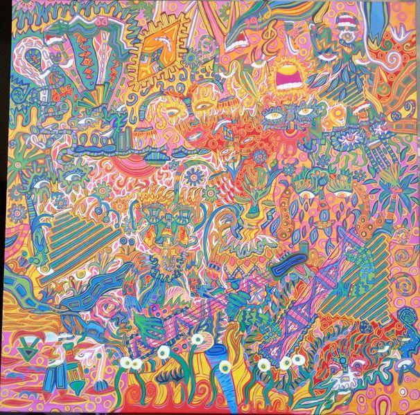 Farben, Emotion, Musik, Bunt, Treppe, Klang