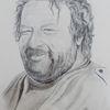 Portrait, Bud spencer, Bleistiftzeichnung, Zeichnungen