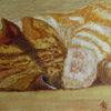 Katze, Aquarellmalerei, Tiere, Aquarell