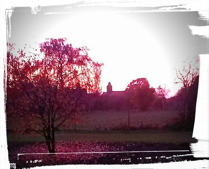 Farben, Sonne, Fotografie, Sonnenuntergang, Herbst