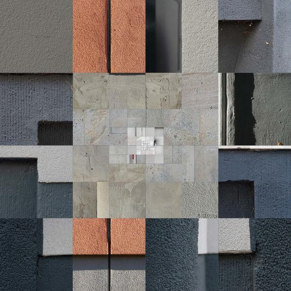 Berlin, Putz, Collage, Fassade, Fotografie