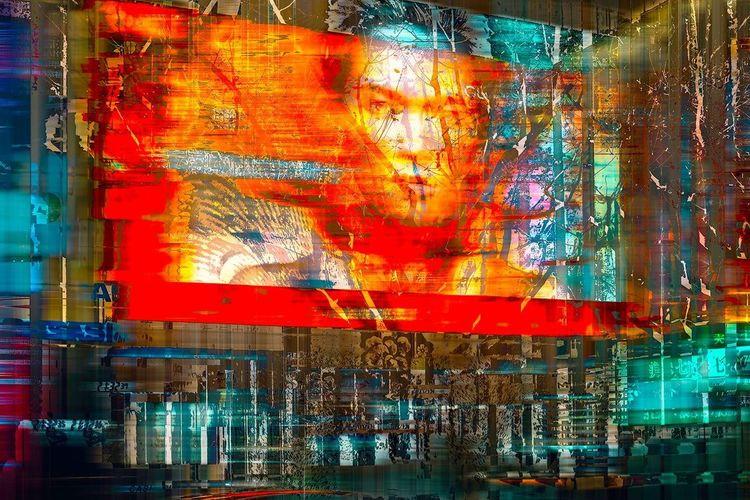 Druck, Digitale kunst, Fotografie, Portrait,