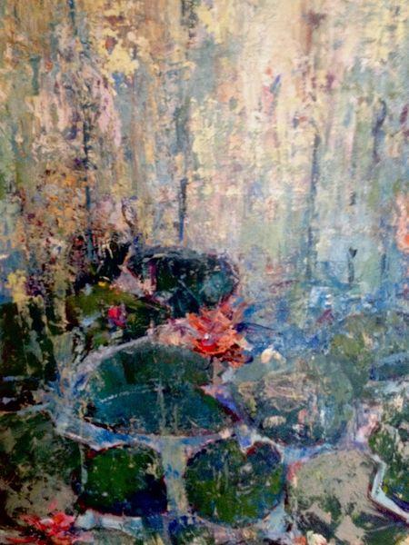 Grün, Wasser, Malerei, Leben
