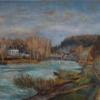 Kamille, Ölmalerei, Pissarro, 60x 80