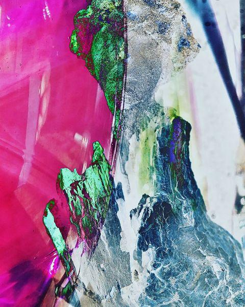 Zeitgenössisch, Acrylmalerei, Fotografie, Abstrakt, Digitale kunst