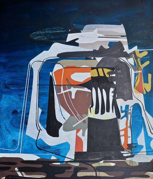 Orbit, Zeitgenössisch, Abstrakt maleri, Rätsel, Abstrakt list, Nebula