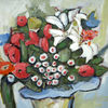 Pinnwand, Blumenstrauß