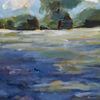 Acrylmalerei, Landschaft, Malerei