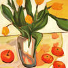 Malerei, Blumen, Landschaft