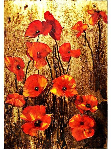 Aur, Surreal, Ölmalerei, Rose, Malerei, Dutt