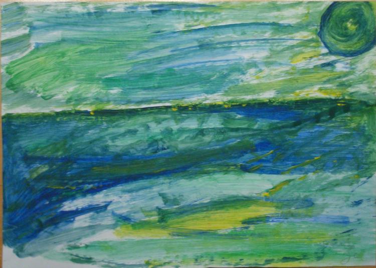Insellandschaft, Sonne, Grün, Natur, Insel, Wasser