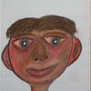 Portrait, Pastellmalerei, Gesicht, Zeichnung