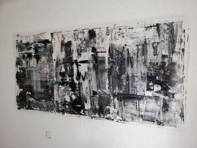 Abstrakt, Mischtechnik, Modern art, Modern, Acrylmalerei, Malerei