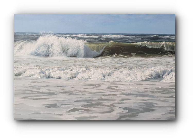 Welle, Fotorealismus, Meer, Natur, Realismus, Wind
