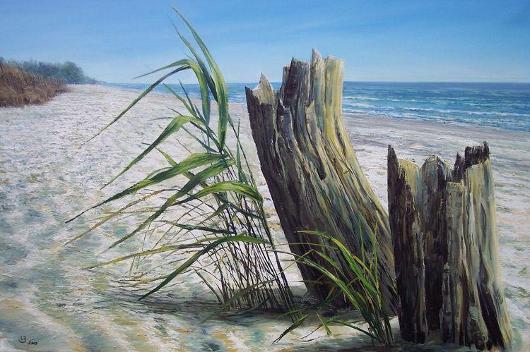 Realismus, Meer, Blau, Licht, Strand, Wasser