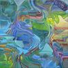 Malerei, Abstrakt, Glück