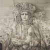 Frau, Tracht, Zeichnung, Geschichte
