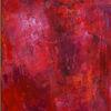 Spachtelabeit, Informel, Rot, Malerei